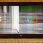 NEC LS700NSW-KS 画面割れ、表示不良、ヒビ