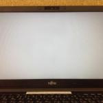 ノートパソコンの液晶割れ、亀裂、ヒビの液晶交換の内容が確認できます。