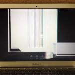 MacbookAirの画面割れ、亀裂、表示不良を格安に修理します!