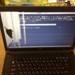富士通のノートパソコン液晶修理を格安に行います!