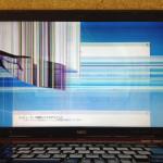 NECのノートパソコンの画面割れ、表示不良を格安に直します!