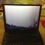 SONYのノートパソコンVAIO VGN-G3の液晶交換が格安!
