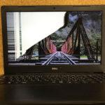DELL NI35S-AHHBBの液晶割れ パソコン修理