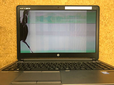 HP ProBook 650 G1 画面割れ
