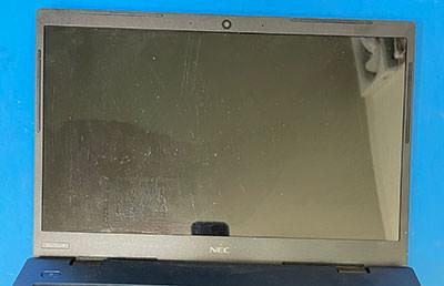 PC-HM750PAL 液晶割れ