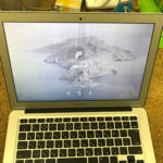MacBook Air 画面がぼやける