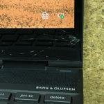HP x360 13-ar0105AUのパソコン修理 液晶画面割れ