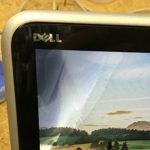 DELL XPS 12 9Q33の画面故障、液漏れの修理