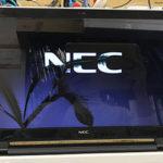 NEC PC-GN19DJSA6の液晶画面割れ パソコン修理