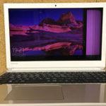 東芝 dynabook T6 P1T6KKEG 画面が変色!修理・買取