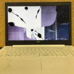 NEC NS100/K2W-H6の液晶割れ パネル交換 修理・買取