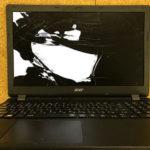 ASUS TUF Gaming A15 FA506Iの液晶割れ 修理・買取