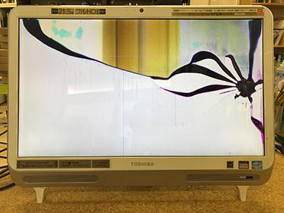 D712/V7GW 画面割れ