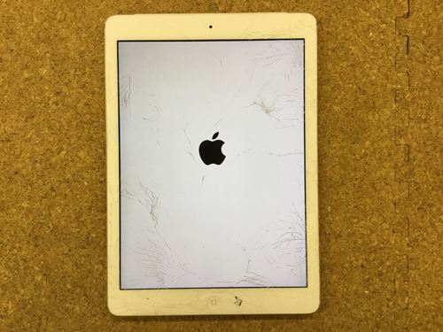 iPad Air 液晶割れ