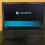 dynabook B25/23EBの液晶修理 表示不良、劣化?