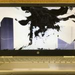HP 15-au105tu 液晶修理 画面交換