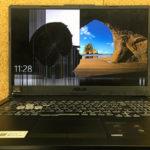 ASUS TUF Gaming A17の液晶割れ 修理・買取