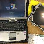Panasonic Toughbook CF-18 修理 液晶、キーボードの故障