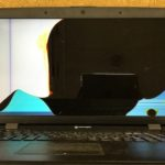 マウスコンピューター W170HNのパソコン修理 液晶割れ