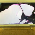 成田市より東芝REGZA PCのパソコン修理 画面割れ