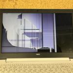 NEC PC-GN187FDADの液晶画面割れ パソコン修理