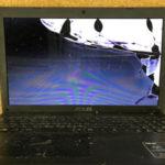 ASUS X552Wのパソコン修理 画面割れ