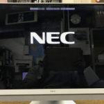 NEC PC-DA770KAW 画面割れ