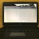 NEC Versa Pro VX-F 画面割れ、液晶交換修理