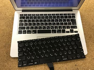MacBook Air キーボード交換