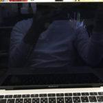 MacBook Air 2018(A1932)の液晶修理 画面割れ