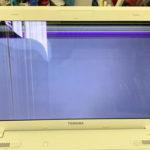 本八幡のパソコン修理 東芝 PB35022BSTWの画面割れ