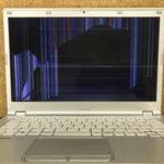 Panasonic CF-LX4EDHCS 画面割れ、パソコン修理