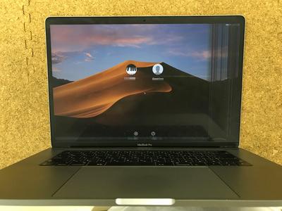 MacBook Pro タッチバーの当日修理