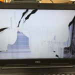 DELL P75F 画面割れのパソコン修理