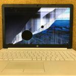 HP 15-db0000 画面割れのパソコン修理 浦安市より