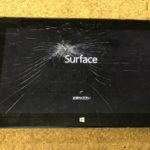 Surface Pro 2 修理 画面割れ 納期、データについて