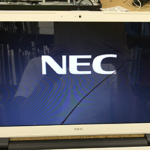 NEC LE150/S 液晶画面割れのパソコン修理