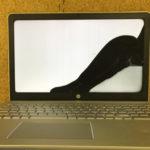 HP Pavilion 15-cc144TX 画面割れの液晶修理