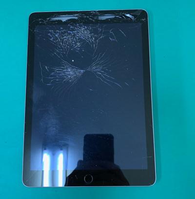 iPad 5 ガラス割れ