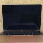 MacBook Air 2018の修理 画面割れ、映らない