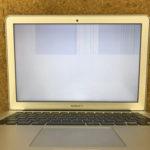 MacBook Airの画面が真っ白になった!修理方法は?
