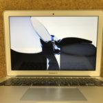市原市からMac当日修理 2時間で液晶交換完了