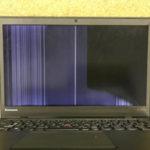 X1 Carbon 画面に線が入ったパソコン修理