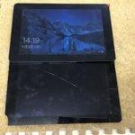ASUS タブレット T100CHI-Z3795の液晶交換修理