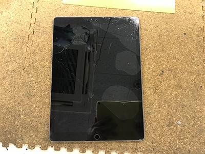 iPad Pro 液晶割れ