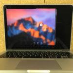 佐倉市 MacBook Pro 2013のパソコン修理 画面割れ