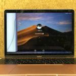 MacBook ローズゴールドの液晶修理 画面割れ