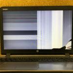 HP ProBook 450 G3の液晶修理 画面割れ