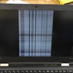 レノボのパソコン修理 X1 Carbonの画面割れ