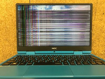PC-NM150GAL 液晶割れ